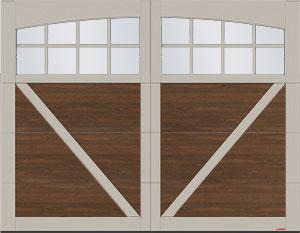 Moulure Arche avec Panoramique 8 carreaux pour le design Princeton P-23