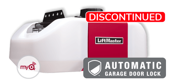 Model 8557W with automatic garage door lock