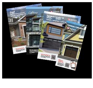 Consultez les portes de garages Garaga par nom de produits