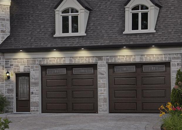 Standard+ Prestige XL, 9' x 8', Brun commercial, fenêtres Cachet