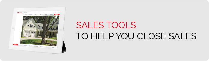 Sales Tools - To help you close sales