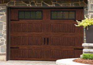 Garage Doors Staining A Metal Door In A Woodgrain Finish Garaga