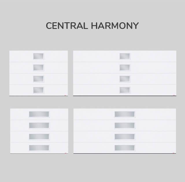 Window layout: Central Harmony