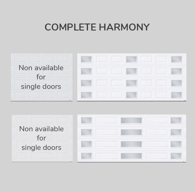 Window layout: Complete Harmony