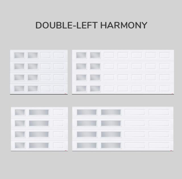 Window layout: Double-left Harmony