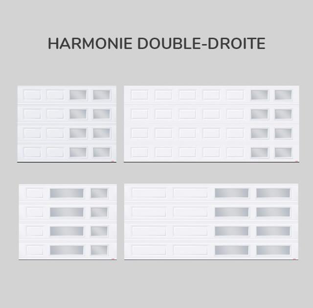 Fenestration : Harmonie double-droite