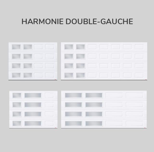 Fenestration : Harmonie double-gauche