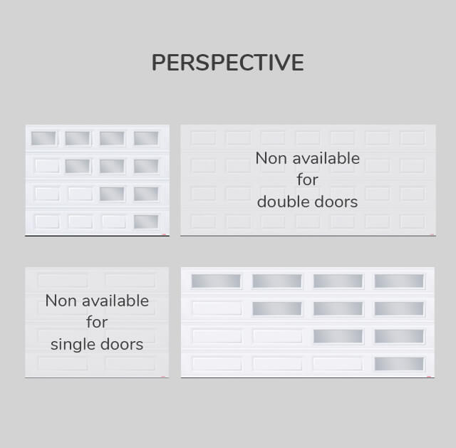 Window layout: Perspective