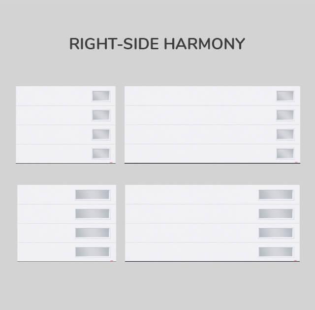 Window layout: Right-side Harmony