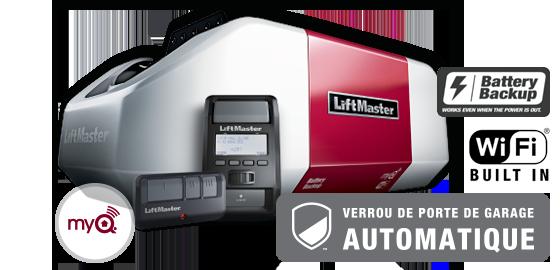 Ouvre-porte de garage électrique LiftMaster 8550WLB