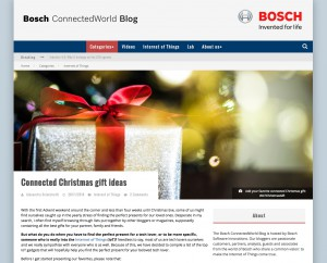 Bosch ConnectedWorld Blog