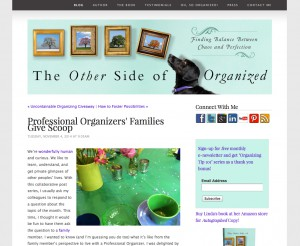 The Other Side of Organized