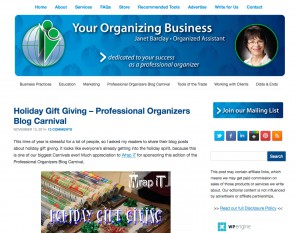 Your Organizing Business