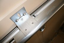 Welded anchoring plates