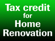 Tax credit for 2009 home Renovation