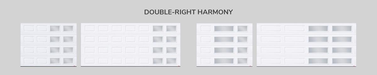 Window layout: Double-right Harmony