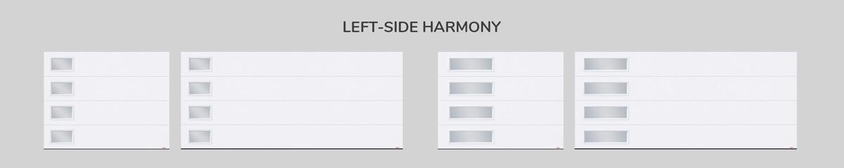 Window layout: Left-side Harmony