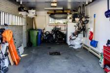 inside view of a garage