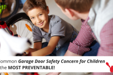 The Most Common Garage Door Injury to Children Is Also the Most Preventable