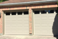 Why did homeowners change their garage door?