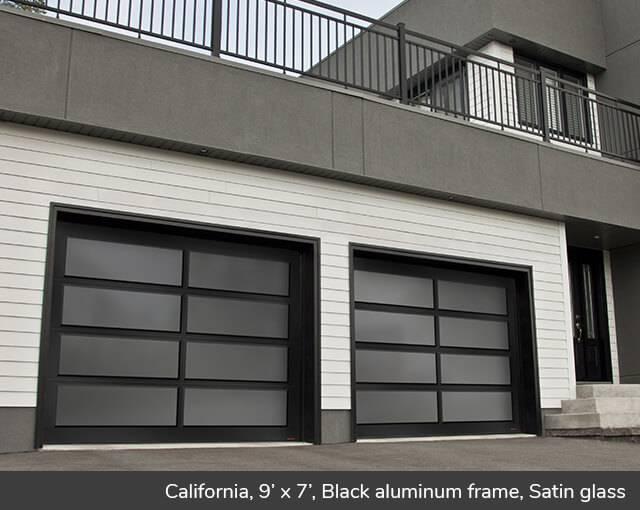 California design from Garaga Garage Doors on
