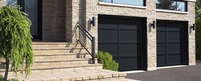Cambridge CL, 9u0027 X 8u0027, Black Doors And Overlays