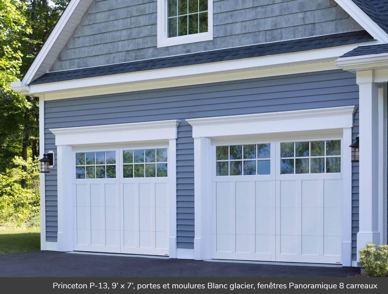 Princeton p 13 portes de garage r sidentielles garaga for Porte de garage garaga