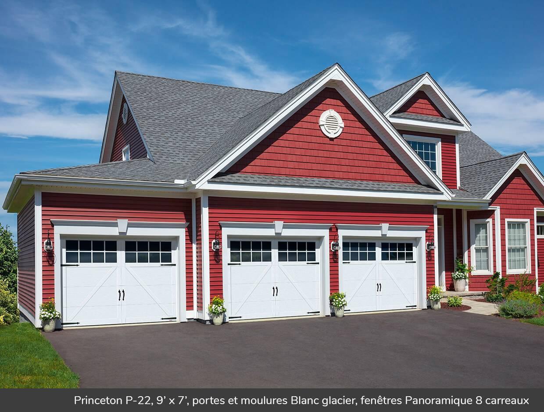 Princeton p 22 portes de garage r sidentielles garaga for Porte de garage garaga