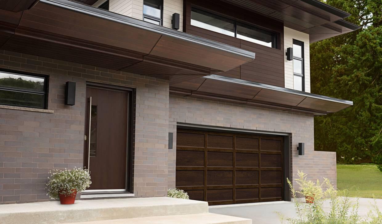 Cambridge CL 15u0027 X 7u0027, Chocolate Walnut Door And Overlays, No Windows