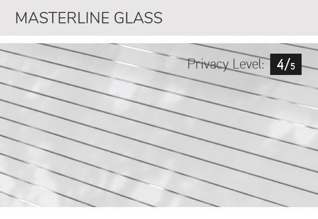 Masterline glass