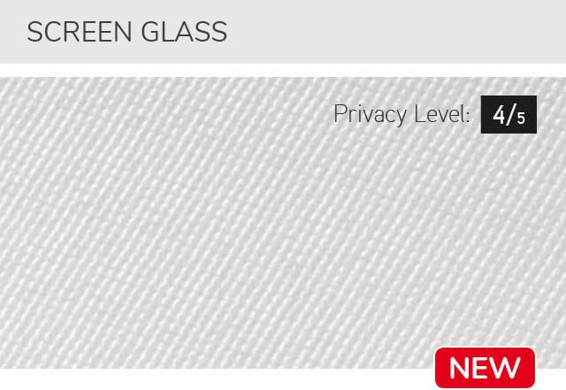 Screen glass