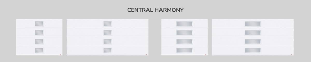 Window layout: Central Harmony