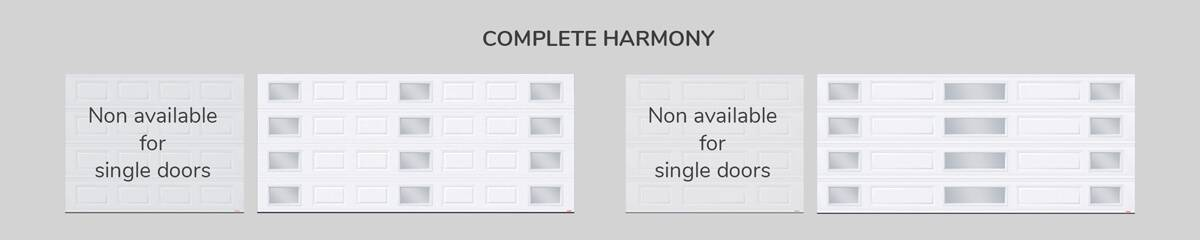 Window layout: Complete Harmony