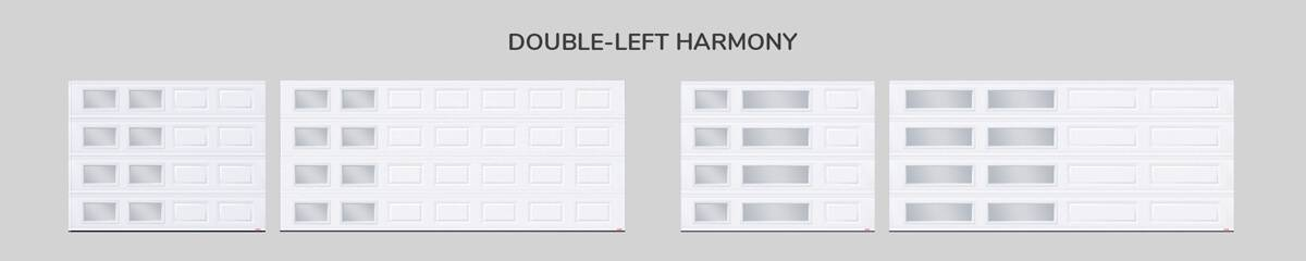 Window layout: Double-left Harmony