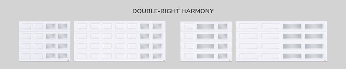 Window layout: Double-right Harmony