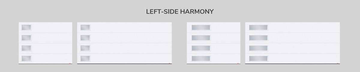 Window layout: Left-side Harmony