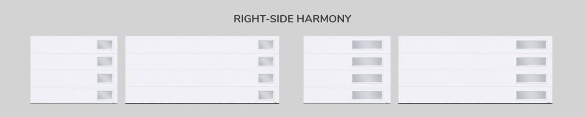 Window layout: Right-side Harmony