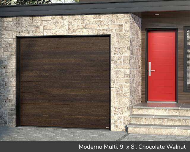 Moderno Multi 9 X 8 Chocolate Walnut