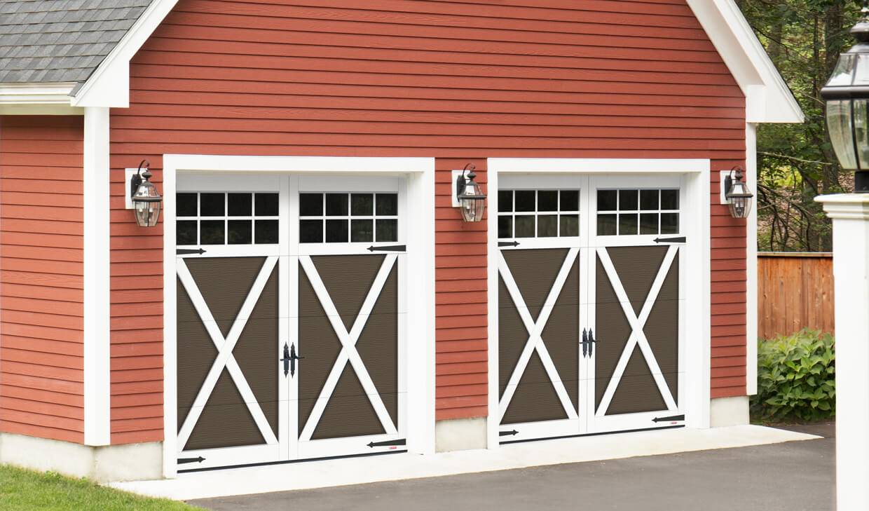 Garaga Carriage House Garage Doors Gorgeous Country Look