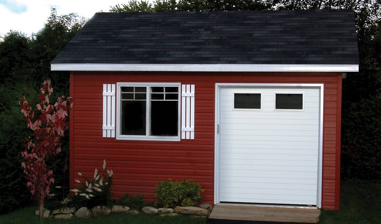Acadia 138 Grooved, 6' x 7', Ice White, Clear windows