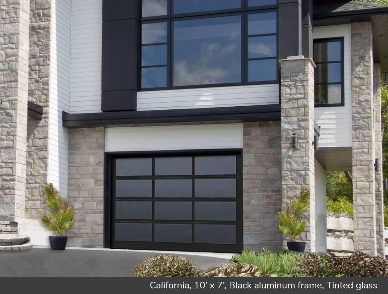 california design from garaga garage doors. Black Bedroom Furniture Sets. Home Design Ideas