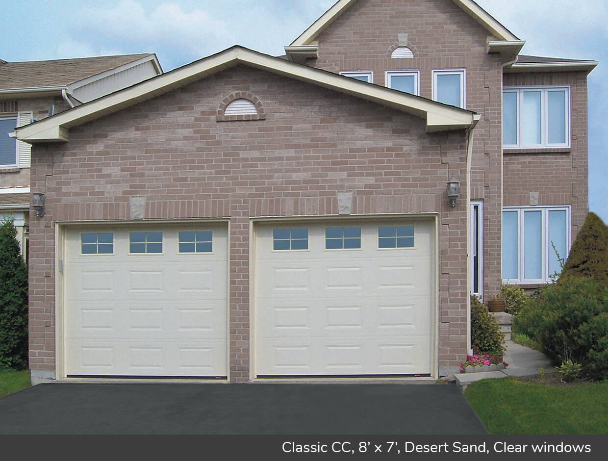 Classic CC, 8' x 7', Desert Sand, Orion 4 lite windows