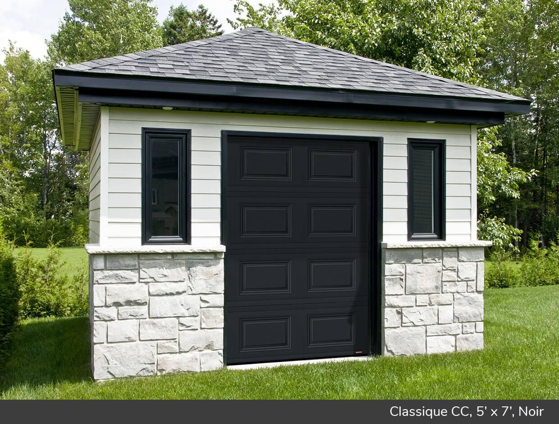 Classique cc portes de garage r sidentielles garaga for Porte de garage garaga