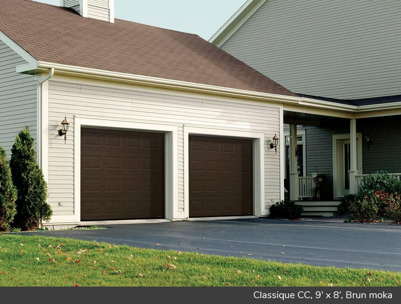 Classique cc portes de garage r sidentielles garaga for Isolation gratuite garage
