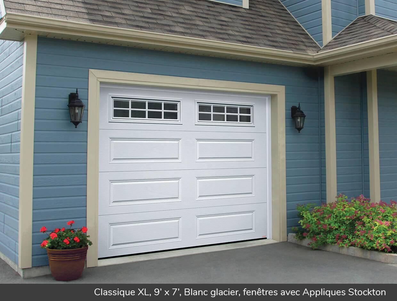 Classique xl portes de garage r sidentielles garaga for Isolation gratuite garage