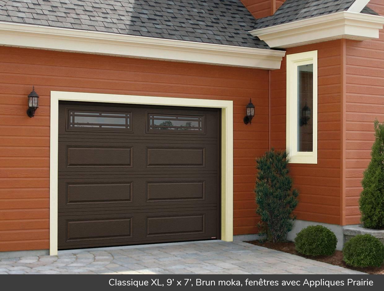 classique xl portes de garage residentielles garaga With porte de garage et porte classique