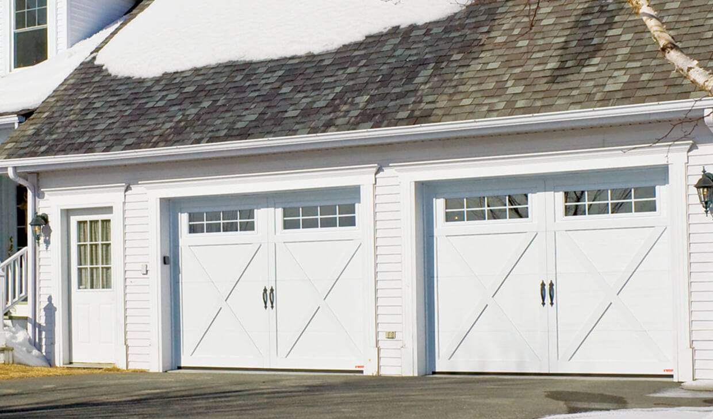 Eastman E 21, 9u0027 X 7u0027, Ice White Doors And Overlays