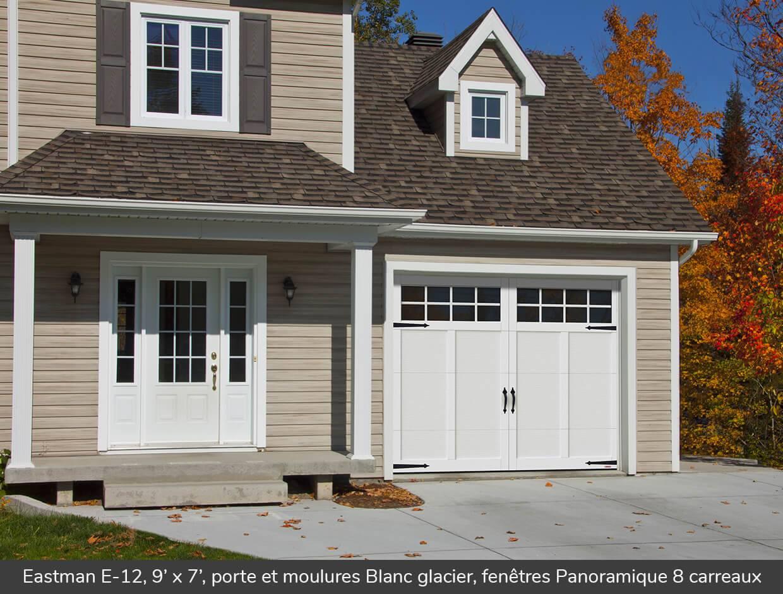 Eastman e 12 portes de garage r sidentielles garaga for Porte de garage garaga