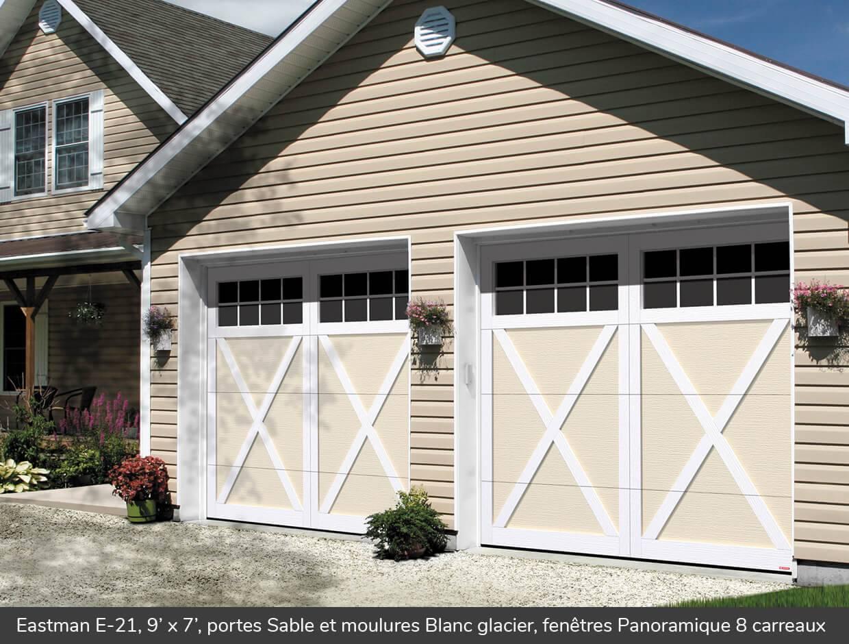 Eastman e 21 portes de garage r sidentielles garaga for Porte de garage garaga