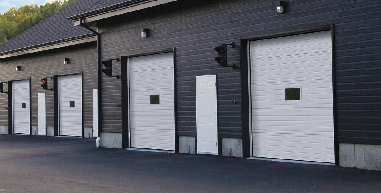G-5000 doors, 10' x 10', Ice White
